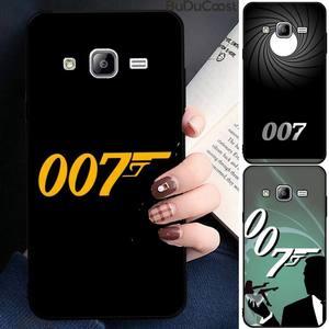 Filme americano 007 caso de telefone para samsung galaxy j7 j8 j6 plus 2018 prime note 7 8 9 10 pro
