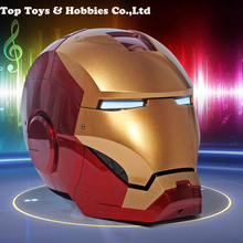 Roan Iron Man MK7 Mark III 1:1 Helmet New vision Accessory Figure Helmet Wearable Cosplay [manual version] cattoys 1 1 full scale iron man wearable abs helmet mark 42 mark 43 mk42 mk43 mask replica with led light