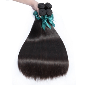 Image 4 - Bling Hair 8 40 Inch Brazilian Straight Hair Weave Bundles 100% Remy Human Hair Extensions Double Weft 3/6/9 Bundles Wholesale