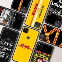 Dhl Express Shockproof Cover Voor Google Pixel 4 Xl Case Google 4 Shell Google 4a Telefoon Zachte Fundas Coque Capa