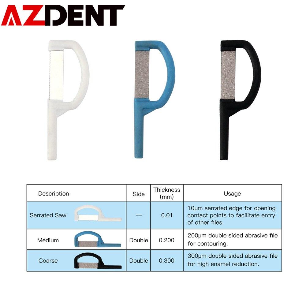 1 PC Dental Orthodontic Interproximal Enamel Reduction IPR Automatic Strip  DESCRIPTION 120°CAutoclavable