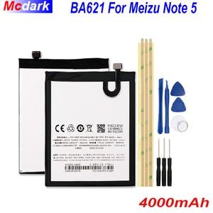 Image 1 - 4000mAh BA621 לmeizu הערה 5 סוללה Batterie עבור Meizu meilan הערה 5 M5 הערה Bateria נייד טלפון Batterij מצבר + כלים