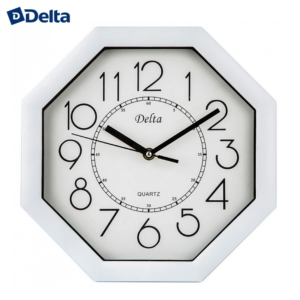 Wall Clocks Delta DT-0093  clock home decor classic look батарея delta dt 6045 4 5ач 6b