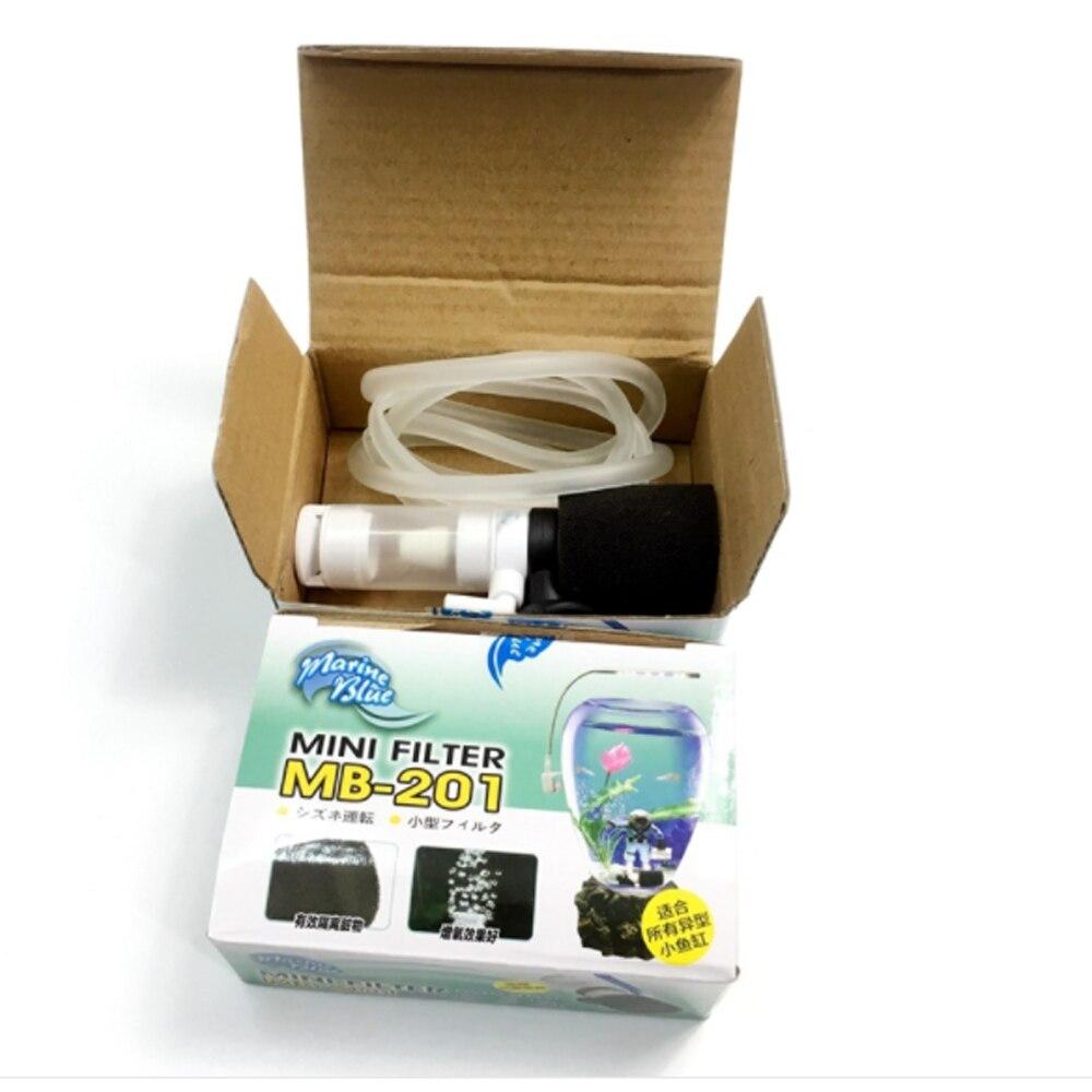 Внешний мини-фильтр маленький Пневматический фильтр для аквариума бесшумный погружной кислородный аквариумный насос аксессуары