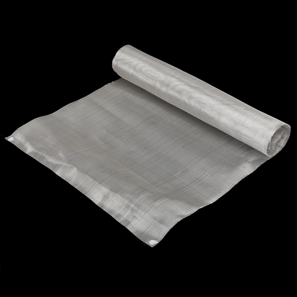 500 Mesh 304 Stainless Steel Woven Wire Mesh Filter Cloth Sheet 40cm X 90cm