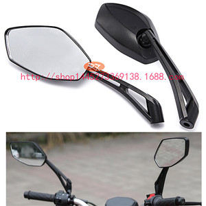 Image 5 - レース moto cross 表示部分黒 moto 用 honda Kawasaki Z750 Z1000 ZRX1100 ZRX1200 ミラー moto rcycle バックミラー