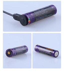Image 5 - 10 sztuk akumulator do laptopa USB 18650 3500mAh 3.7V akumulator litowo jonowy USB 5000ML akumulator litowo jonowy + przewód USB