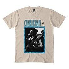 Camisa do oceano de charlie rain 90 s bl grunge clássico bl preto