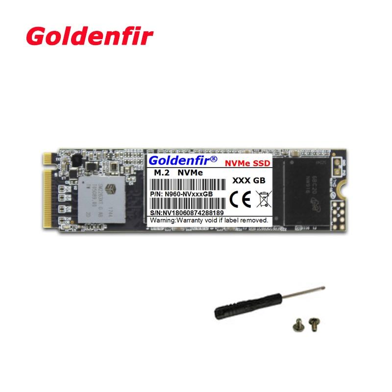 Goldenfir M.2 SSD PCIe 128 ГБ 256 ГБ 512 ГБ 120 ГБ 240 ГБ 480 ГБ M.2 NVMe pcie disco duro interno para MSI Notebook/Thinkpad P50
