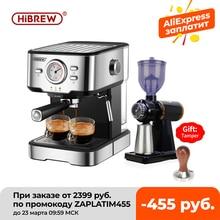 Coffee-Machine Cappuccino-Maker Espresso Steam-Wand Water-Temperature-Meter Inox Hibrew