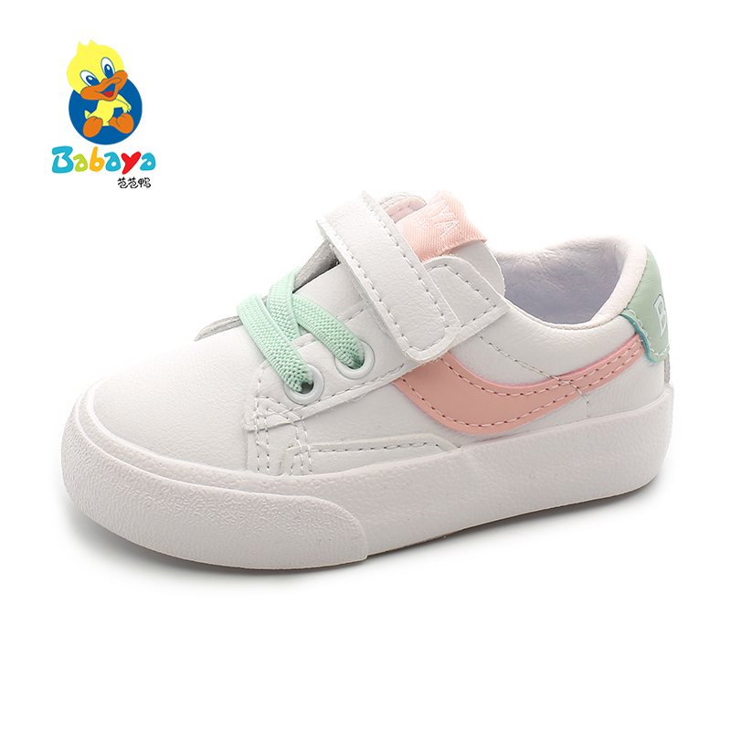 Babaya Baby Shoes Girls Sneakers 1-3 Years Old Baby Boy Shoes Kids Sports Artificial Leather 2020 Spring New Toddler Shoes