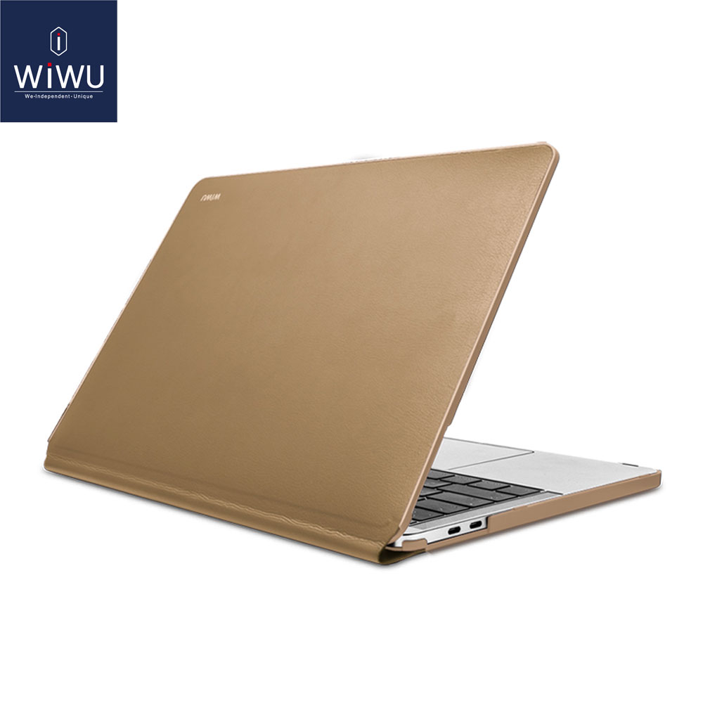 WiWU Laptop Case for MacBook Pro Air 13 A1706 A1708 A1989 A1932 inch Waterproof PU Leather Hardshell Case for MacBook Pro 13(China)