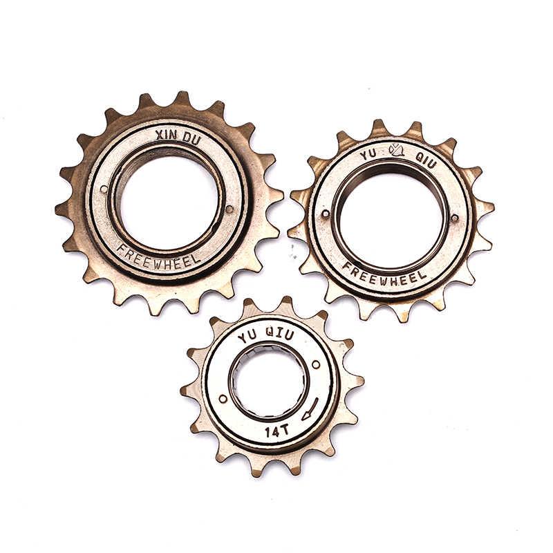 Single Speed Freewheel 12T//14T//16 Steel Bike Bicycle Flywheel Cycling Accessory