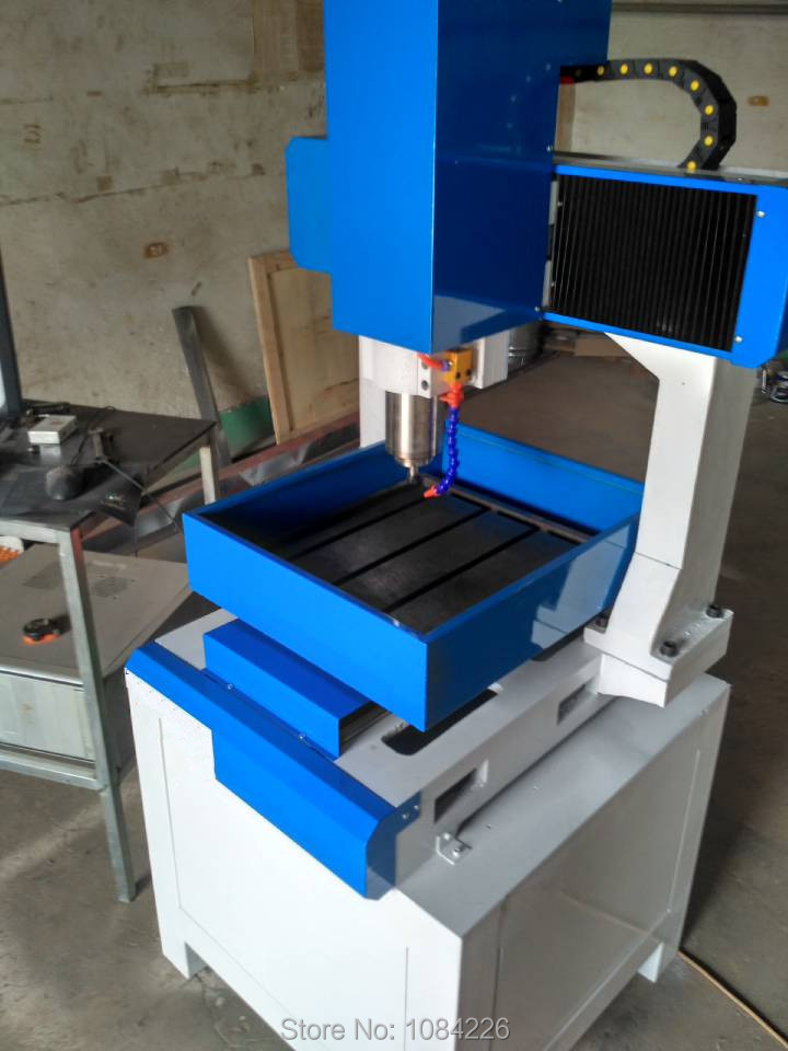 3030/4040 /6040 <font><b>6060</b></font> Mini miling metal <font><b>cnc</b></font> <font><b>router</b></font> machine for mold making metal <font><b>cnc</b></font> engraving machine free shipping image