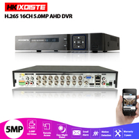 6 IN1 AHD CVI TVI CVBS NVR 4Ch 8Ch 16Ch 5MP 4MP 2MP Security CCTV DVR NVR XVR Hybrid Video Recorder 4.0MP Onvif Max 6TB P2P View