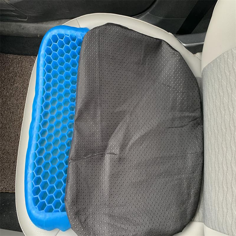 Fashion 3D Honeycomb Ice Pad Gel Cushion Non-slip Soft And Comfortable Outdoor Massage Office Chair Cushion Carpet