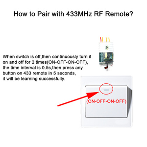 Image 3 - eWelink Single Wire WIFI Module 2 way support RF433Mhz no neutral wire required work with Alexa and google home 220 240V