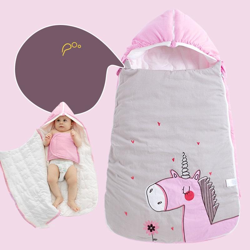Spring Winter Newborn Envelope Baby Sleeping Bag Infant Sleep Sack Children Bedding Anti Kick Warm Sleeping Bag AXA012