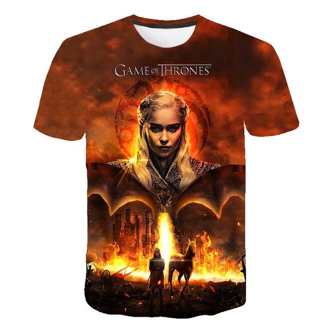 Game of Thrones Men's Casual T-shirt