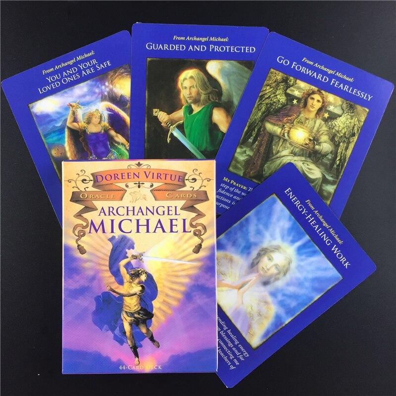 Карты Tarot для Archangel, настольные игры с изображением Майкла и оракула, смешные настольные игры Tarot палубная карта, английский для семейной вечеринки, Прямая поставка