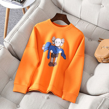 Autumn womens loose sweatshirt high quality  space cotton cartoon patternpullovers A962
