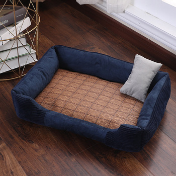 Dog Bed For Cat Sleeping Lounger Mat Puppy Kennel  Pet sofa Cute Fleece Cats & Suitable for all seasons