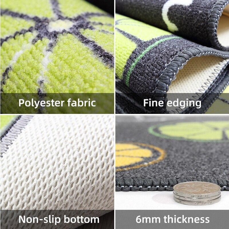 Купить с кэшбэком Long Kitchen Mat rugs Home Entrance Absorbent Oil proof non-slip Doormat Tapete Bath Carpet Floor Mat bedside mats Kitchen Rug