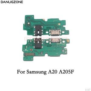 Image 3 - Usb Charging Dock Port Socket Jack Connector Charge Board Flex Kabel Voor Samsung A10 A105F A20 A30 A305F A50 A505F a7 2018 A750F