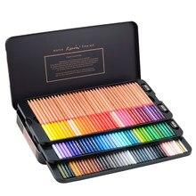 Marco Renoir 3100 24/36/48/72/100/120Color aceite estuche de lápices de colores acuarela Color lápiz de dibujo arte de la escuela suministros