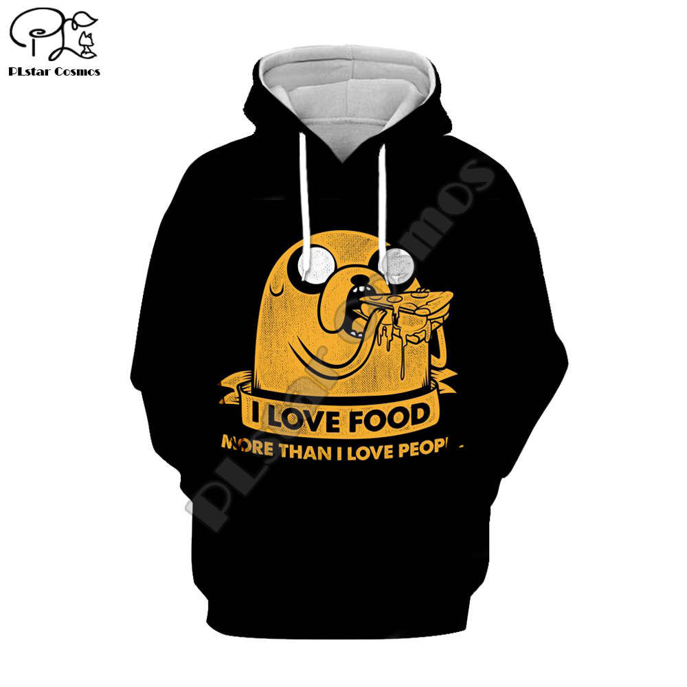 PLstar Cosmos Cute Cartoon Adventure Time 3D Full Print Hoodie Men Women Fashion Hoodies Sweatshirt Hot Sale Style-8