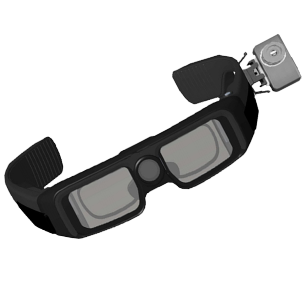 Face Identification Mobile Phone Smart Glasses Infrared Thermal Imaging Camera Thermometer Body Temperature Realtime Measurement