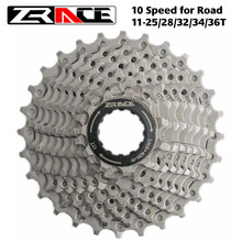 Zrace bicicleta cassete 10 velocidade estrada/mtb bicicleta roda livre 11-25t/28t/32t/34t/36t, compatível com tiagra zee saint