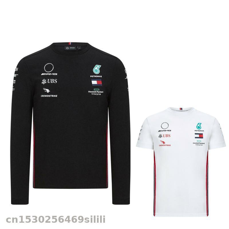 2020 For AMG Motorsport F1 Team T-Shirt Motorbike Motocross MX Dirt Bike Cycling T-shirt Jersey