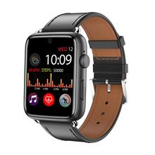 DM20 Smartwatch Met Lederen Band 3Gb 32Gb Gps Wifi 4G 1.88 Inch Touch Screen Hartslag Android 7.1 Smartwatch