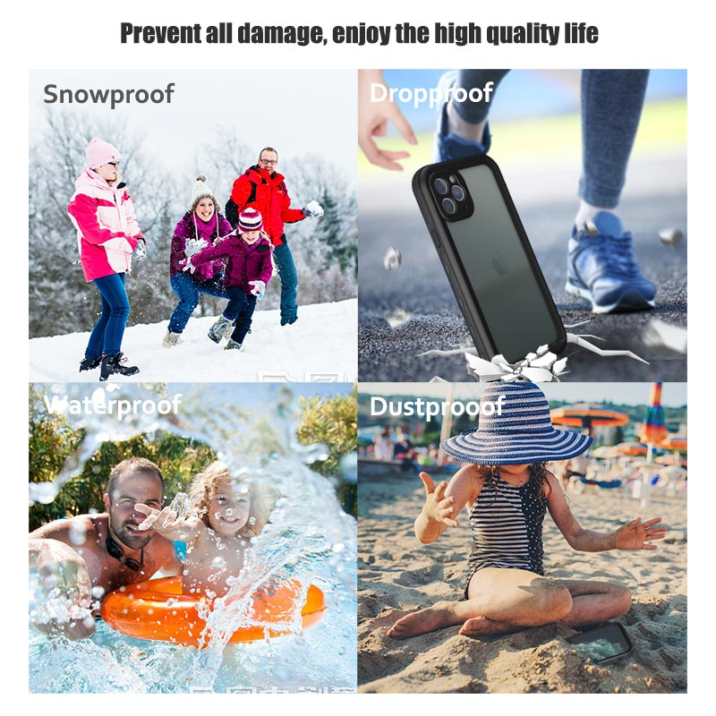 Waterproof Phone Case For iPhone 11 Pro Max (15)