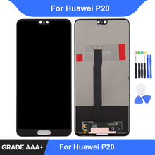 For Huawei P20 LCD Display Touch Screen Digitizer Assembly Repair Parts P20 EML-L09 EML-L22 EML-L29 Display Frame Replacement все цены