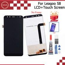 """Ocolor do Leagoo S8 wyświetlacz LCD i ekran dotykowy 5.7 """"montaż naprawa części do telefonu komórkowego Leagoo S8 + narzędzia + klej + Film"""