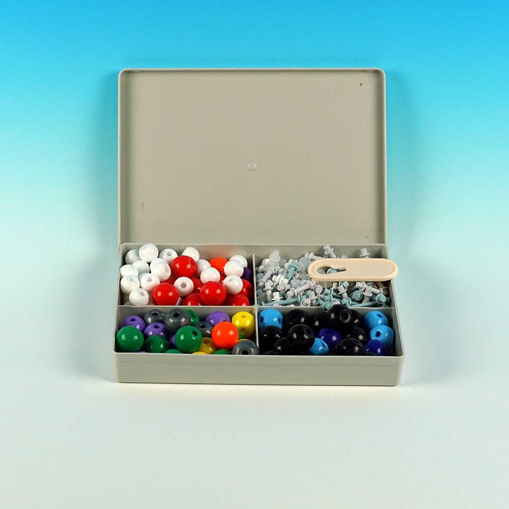 Cocok untuk Sekolah Guru dan Siswa Model Molekul Set Kit Universal dan Kimia Organik Sekolah Belajar Mengajar
