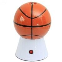 صانعة الفشار الكهربائية آلة المنزلية كرة السلة على شكل جهاز إعداد الفشار آلة صنع الفشار لتقوم بها بنفسك الذرة بوبر الأطفال هدية المنزل جزء-في آلة صنع الفشار من الأجهزة المنزلية على