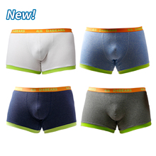 2021 New Arrivals 4PCS/LOT Bear Claw Men's Plus Size Boxers Bear Paw Underwear For Gay Bear White Blue Gray Navy M L XL XXL
