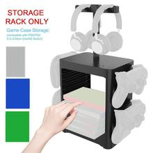 Storage-Rack for Xboxone Headphone Xsx-Holder Multi-Functional-Rack Game-Disc PS5 L9Y8