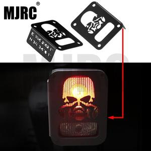 2 pieces of RC taillights LED shades for 1:10 simulation JEEP Wrangler climber AXIAL SCX10 II 90046 90047(China)