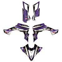 Decorative ATV Stickers Graphic Decals DECO Kit For Yamaha YFZ450R YFZ R450 2014 2015 2016 2017 2018 2019