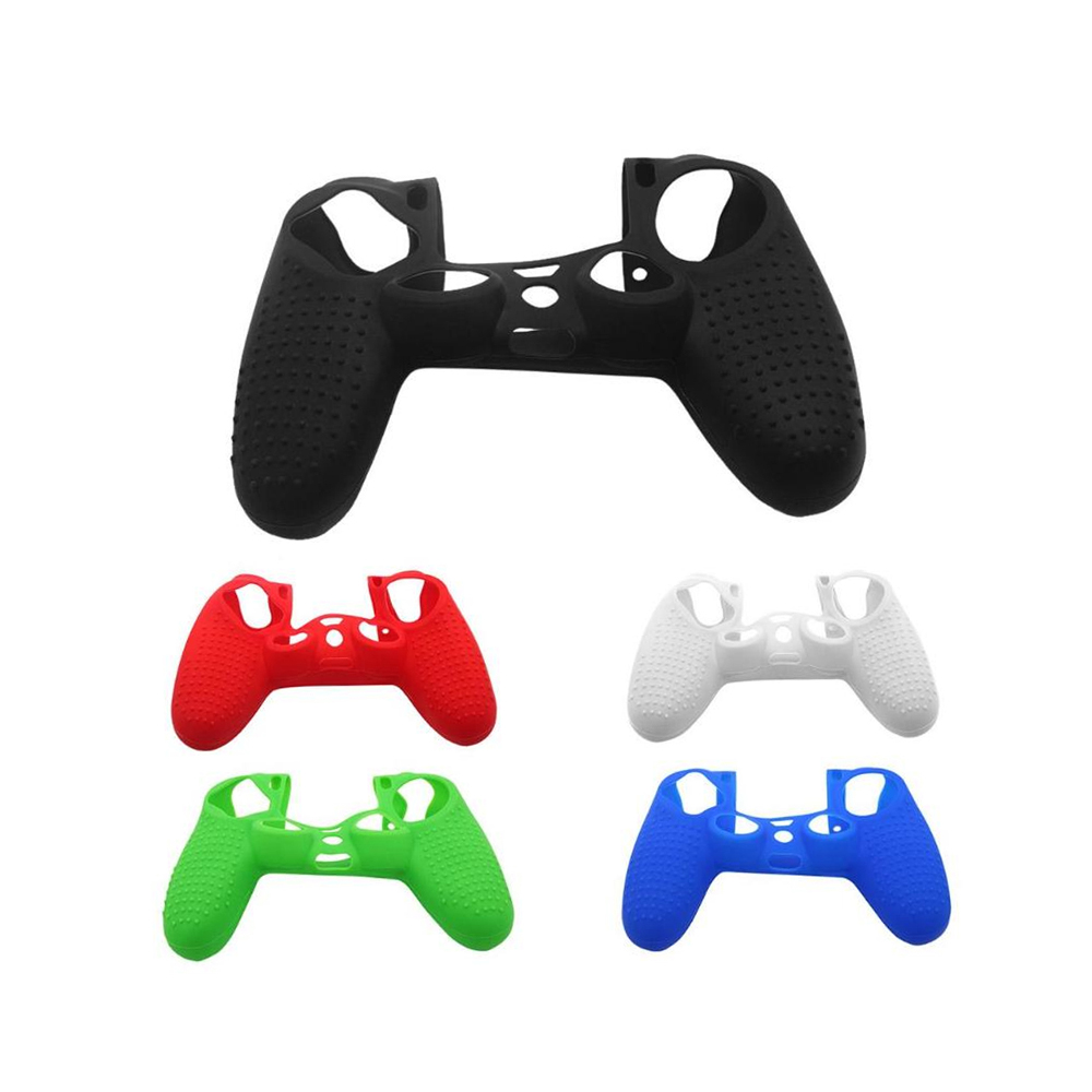 Antiskid Protection Caps Case Non-slip Silicone Soft Protective Joystick Thumbstick Grip Skin Cover For PS4 Game Controller