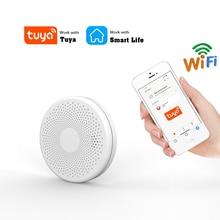 Induction-Alarm Smoke-Detector Fire Smart Tuya Wifi