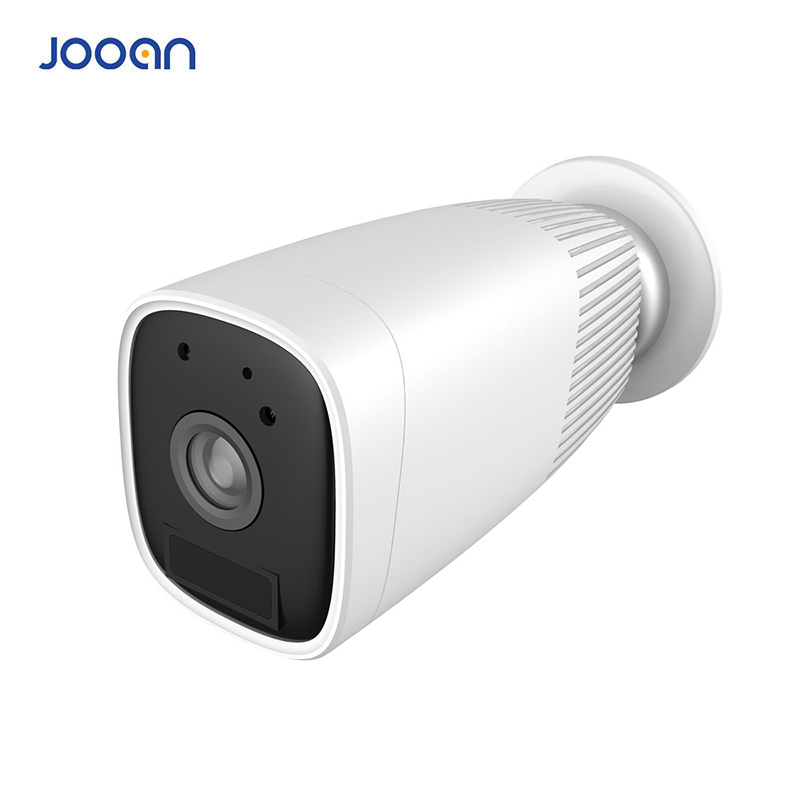 Jooan Ip Camera Battery100% Wire Free IP65 Waterproof 1080P Full HD Battery Powered Camera 130 Wide View Angle Rechargeable-in Surveillance Cameras from Security & Protection