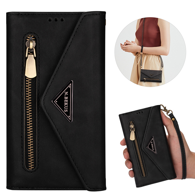 Envelope Flip Leather Wallet Phone Case For Samsung S21 Ultra Note 20 10 + 9 8 A71 A51 A70 S20 S10 S9 S8 Plus S10 Lite S7 Edge
