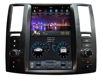 """11.8"""" tesla style vertical screen android 8.1 Six core Car GPS radio Navigation for Infiniti FX35 FX45 2006-2008"""