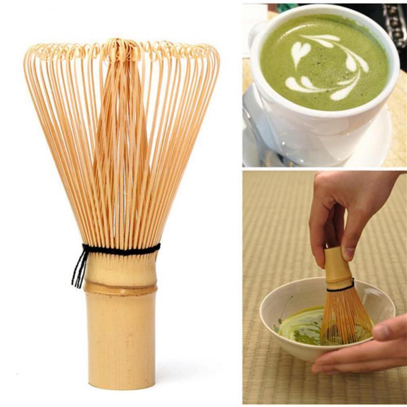 Церемонии бамбук 64 Зелёный чай венчик для пудры маття бамбуковый венчик Бамбук Chasen Полезная щетка Инструменты Аксессуары для чая