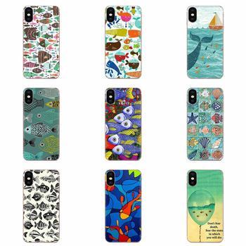 Suave protección de pescado Rapala gato y peces para LG G3 G4 G5 G6 G7 K4 K7 K8 K10 K40 K50 Q6 Q60 V10 V20 V30 V40 Nexus 5 5X 2017